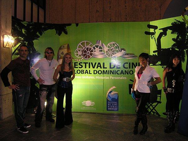2010-11-16 Liquid Blue Band in Santo Domingo Dominican Republic Dominican Global Film Festival 022