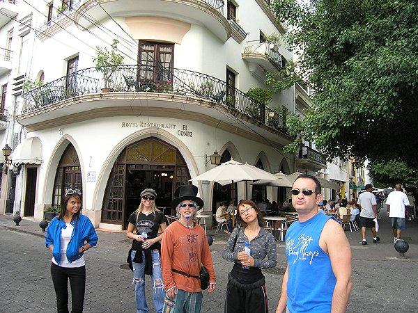 2010-11-17 Liquid Blue Band in Santo Domingo Dominican Republic El Conde Street UNESCO 001