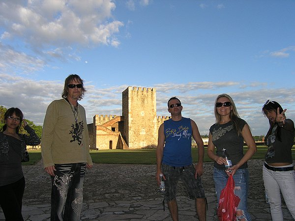 2010-11-18 Liquid Blue Band in Santo Domingo Dominican Republic Ozama Fort UNESCO