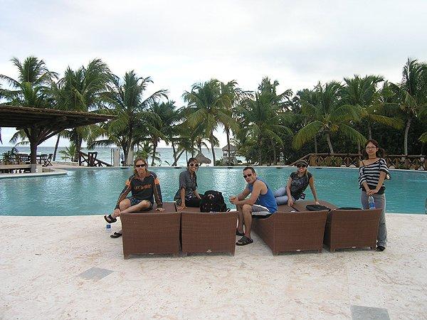 2010-11-20 Liquid Blue Band in Punta Cana Dominican Republic 014