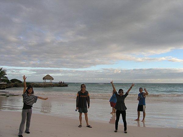 2010-11-20 Liquid Blue Band in Punta Cana Dominican Republic 016