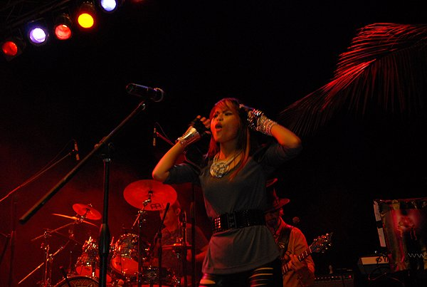 2010-11-20 Liquid Blue Band in Punta Cana Dominican Republic at Cap Cana 014