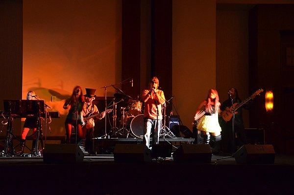 2011-01-15 Liquid Blue Band in Phoenix AZ at Sheraton Hotel 000