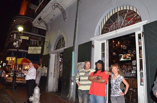 2011-03-22 Liquid Blue Band in New Orleans LA 003
