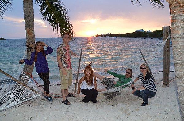 2011-05-18 Liquid Blue Band in Great Guana Cay Bahamas 025