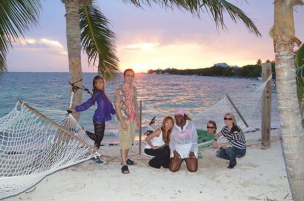 2011-05-18 Liquid Blue Band in Great Guana Cay Bahamas 026