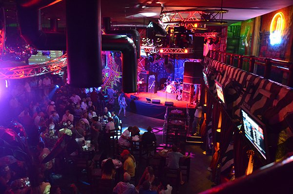 2011-06-03 Liquid Blue Band in Cabo San Lucas BCS Mexico at Cabo Wabo Cantina 001