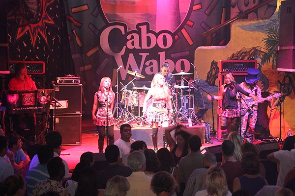 2011-06-03 Liquid Blue Band in Cabo San Lucas BCS Mexico at Cabo Wabo Cantina 068