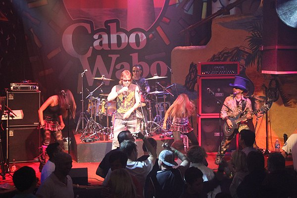 2011-06-03 Liquid Blue Band in Cabo San Lucas BCS Mexico at Cabo Wabo Cantina 071