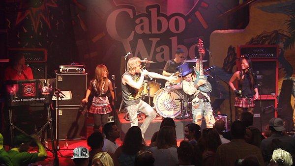 2011-06-03 Liquid Blue Band in Cabo San Lucas BCS Mexico at Cabo Wabo Cantina 081