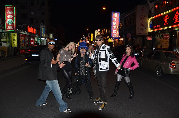 2011-10-19 Liquid Blue Band In Hangzhou China 025