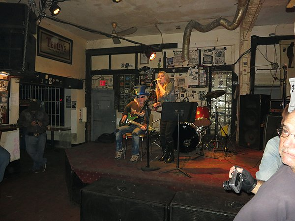 2013-01-15 Acoustic Blue Band in Miamai FL at Churchills 2