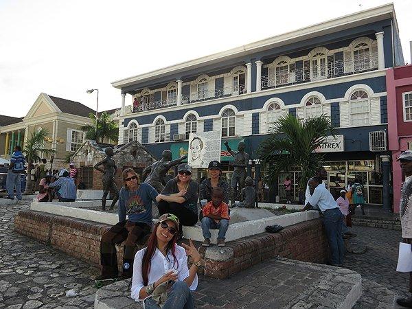 2013-01-17 Liquid Blue Band in Montego Bay Jamaica 011