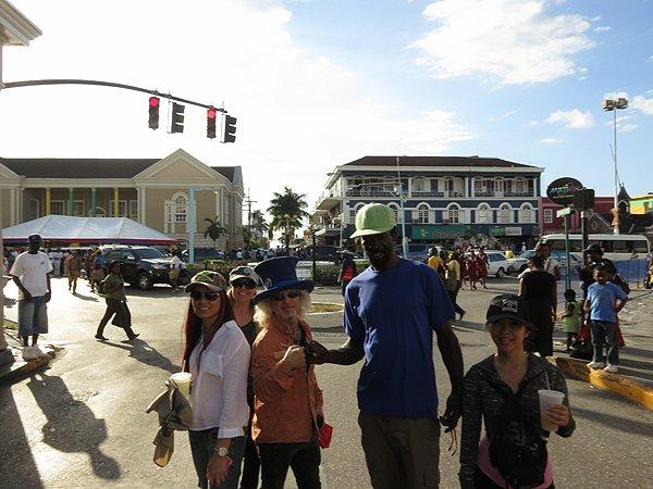 2013-01-17 Liquid Blue Band in Montego Bay Jamaica 012