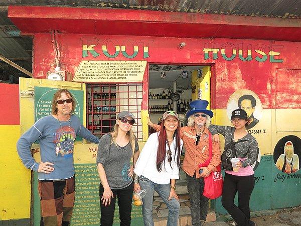 2013-01-17 Liquid Blue Band in Montego Bay Jamaica 024