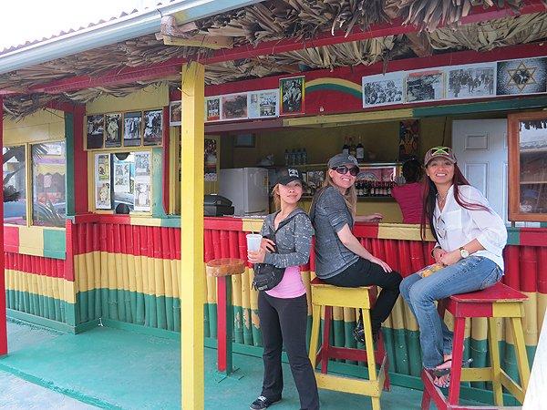 2013-01-17 Liquid Blue Band in Montego Bay Jamaica 027