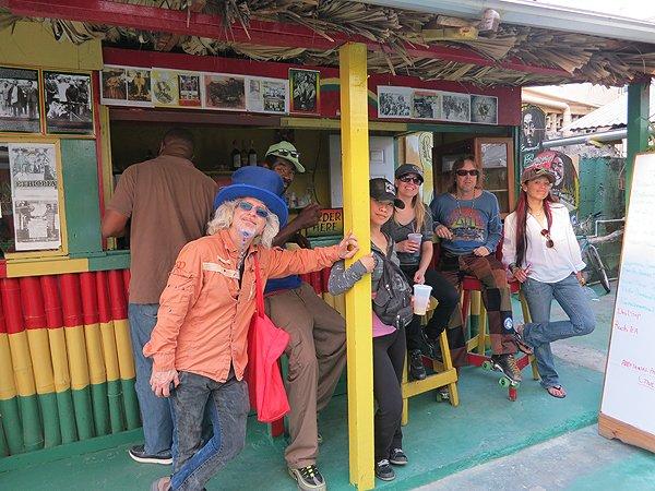 2013-01-17 Liquid Blue Band in Montego Bay Jamaica 029