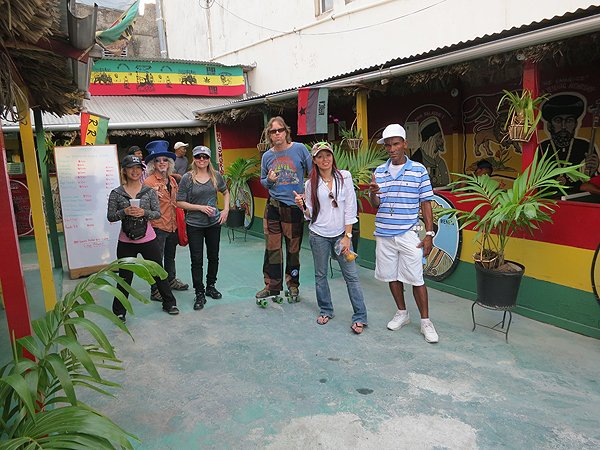 2013-01-17 Liquid Blue Band in Montego Bay Jamaica 030