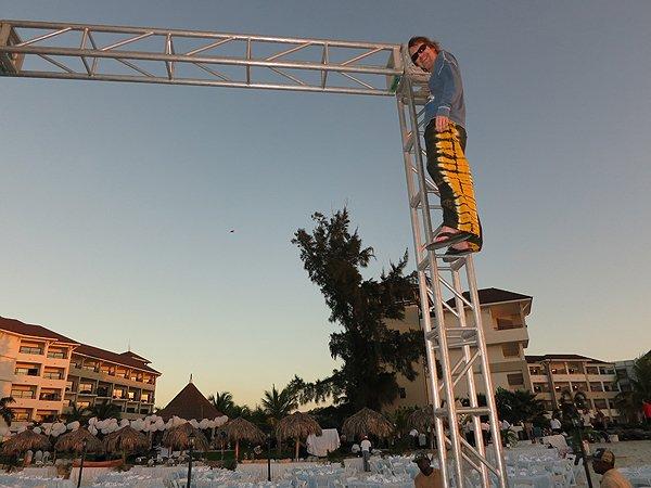 2013-01-18 Liquid Blue Band in Montego Bay Jamaica 013