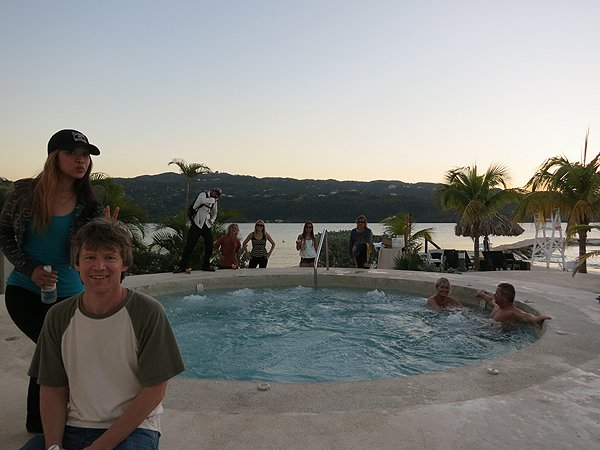 2013-01-18 Liquid Blue Band in Montego Bay Jamaica 020