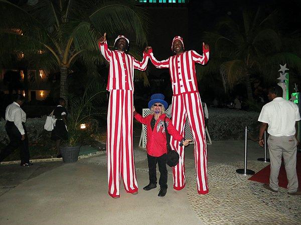 2013-01-18 Liquid Blue Band in Montego Bay Jamaica 027