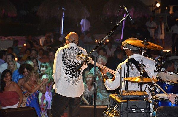 2013-01-18 Liquid Blue Band in Montego Bay Jamaica at Secrets Resort 022