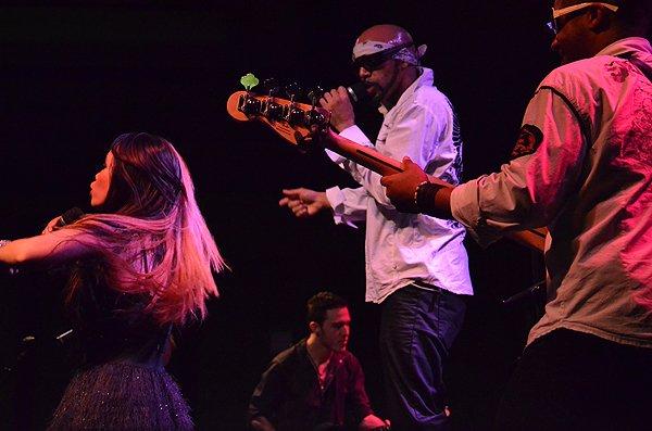 2013-01-25 Liquid Blue Band in New Orleans LA at Hyatt Regency Hotel 099