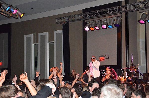 2013-01-25 Liquid Blue Band in New Orleans LA at Hyatt Regency Hotel 112