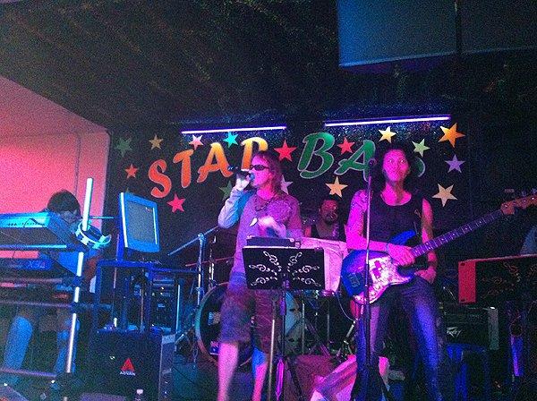 2013-02-19 Liquid Blue Band In Pattaya Thailand At Star Bar 001