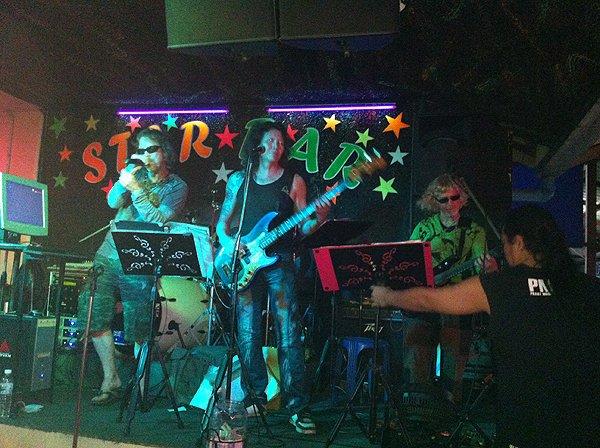 2013-02-19 Liquid Blue Band In Pattaya Thailand At Star Bar 003