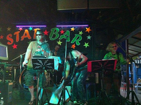 2013-02-19 Liquid Blue Band In Pattaya Thailand At Star Bar 006