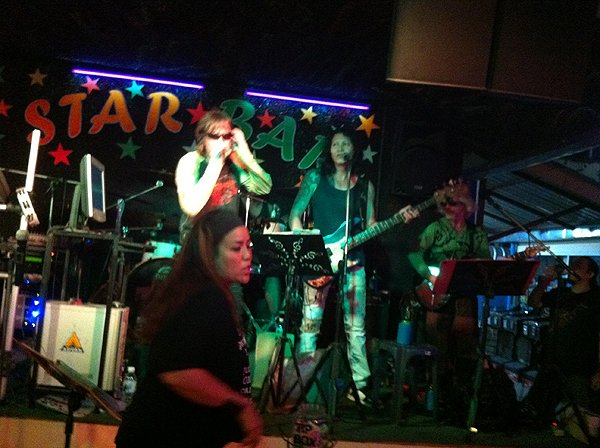 2013-02-23 Liquid Blue In Pattaya Thailand At Star Bar 005