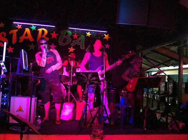 2013-02-23 Liquid Blue In Pattaya Thailand At Star Bar 009