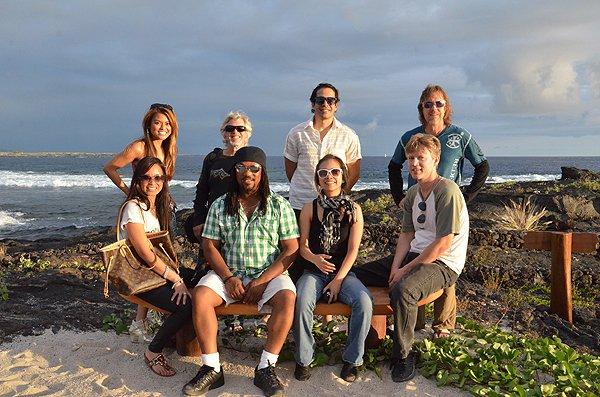2013-07-05 Liquid Blue Band in Kailua Kona HI 009