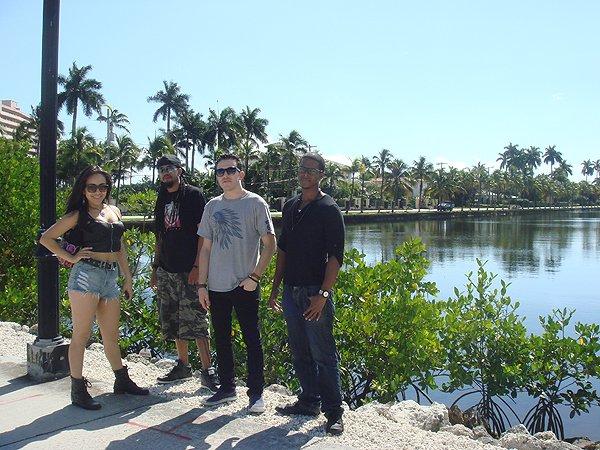 2014-02-10 Liquid Blue Band in Ft Lauderdale FL 008