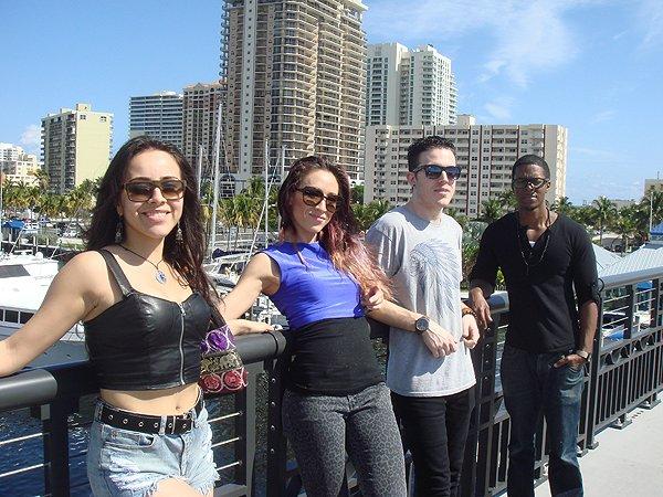 2014-02-10 Liquid Blue Band in Ft Lauderdale FL 010