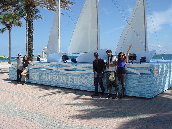 2014-02-10 Liquid Blue Band in Ft Lauderdale FL 015