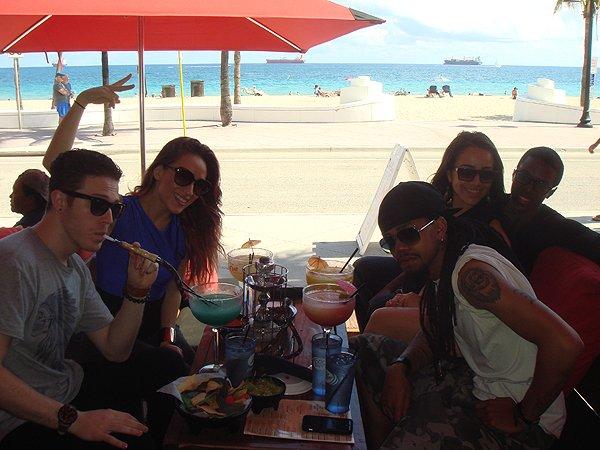 2014-02-10 Liquid Blue Band in Ft Lauderdale FL 023