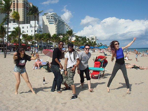 2014-02-10 Liquid Blue Band in Ft Lauderdale FL 027