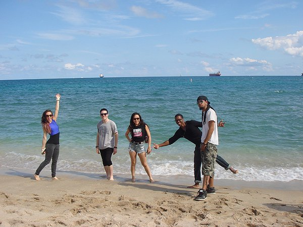 2014-02-10 Liquid Blue Band in Ft Lauderdale FL 029