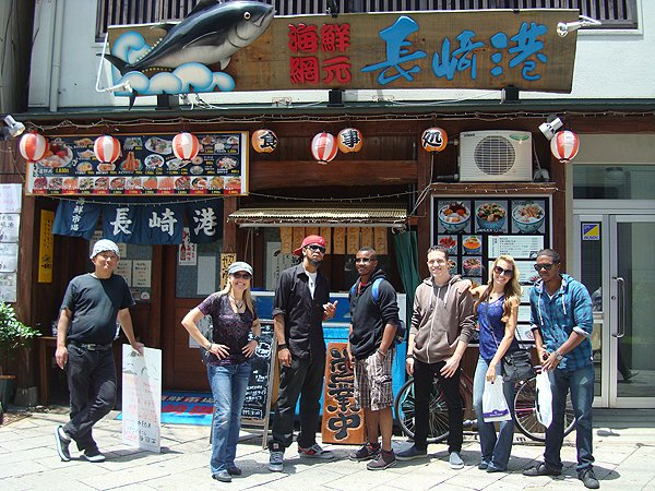 2014-05-13 Liquid Blue Band In Nagasaki Japan 000