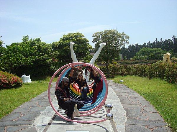 2014-05-23 Liquid Blue Band In Jeju South Korea 040