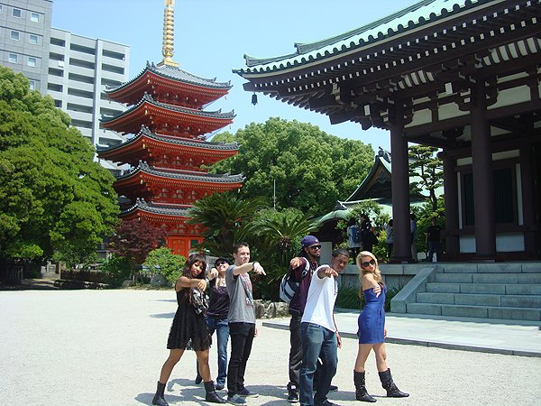 2014-05-24 Liquid Blue Band In Hakata Fukuoka Japan 002