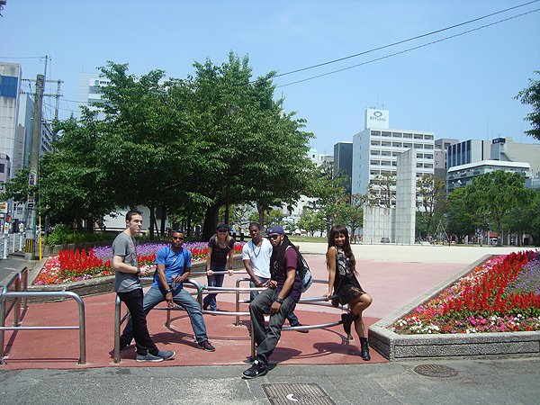 2014-05-24 Liquid Blue Band In Hakata Fukuoka Japan 008