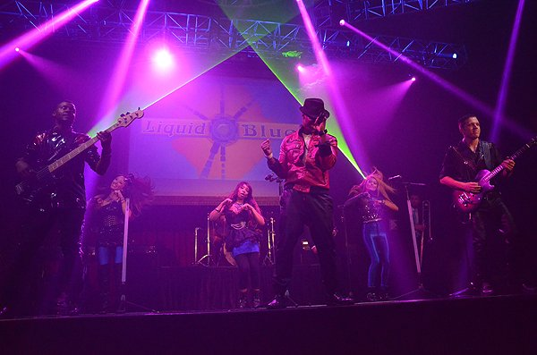 2014-07-14 Liquid Blue Band in Los Angeles CA at Belasco Theater 121