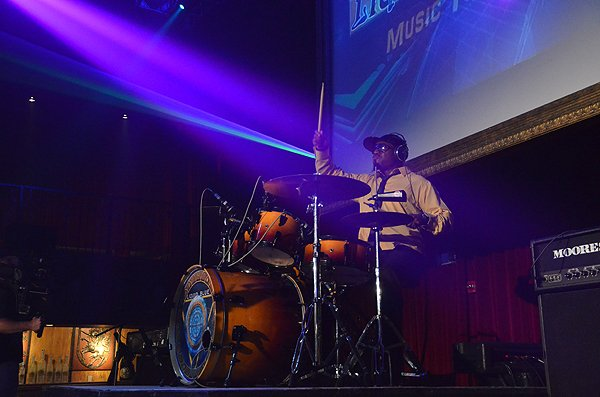 2014-07-14 Liquid Blue Band in Los Angeles CA at Belasco Theater 209