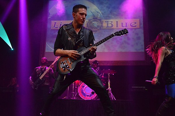 2014-07-14 Liquid Blue Band in Los Angeles CA at Belasco Theater 628