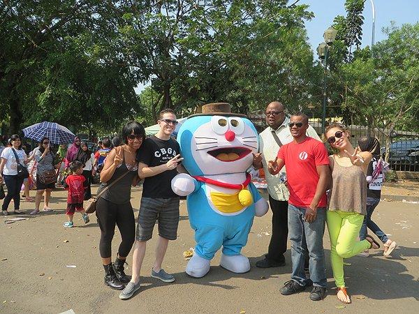2014-09-07 Aqua Blue Band In Jakarta Indonesia 011