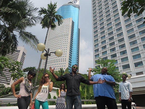 2014-09-07 Aqua Blue Band In Jakarta Indonesia 032