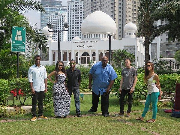 2014-09-07 Aqua Blue Band In Jakarta Indonesia 075